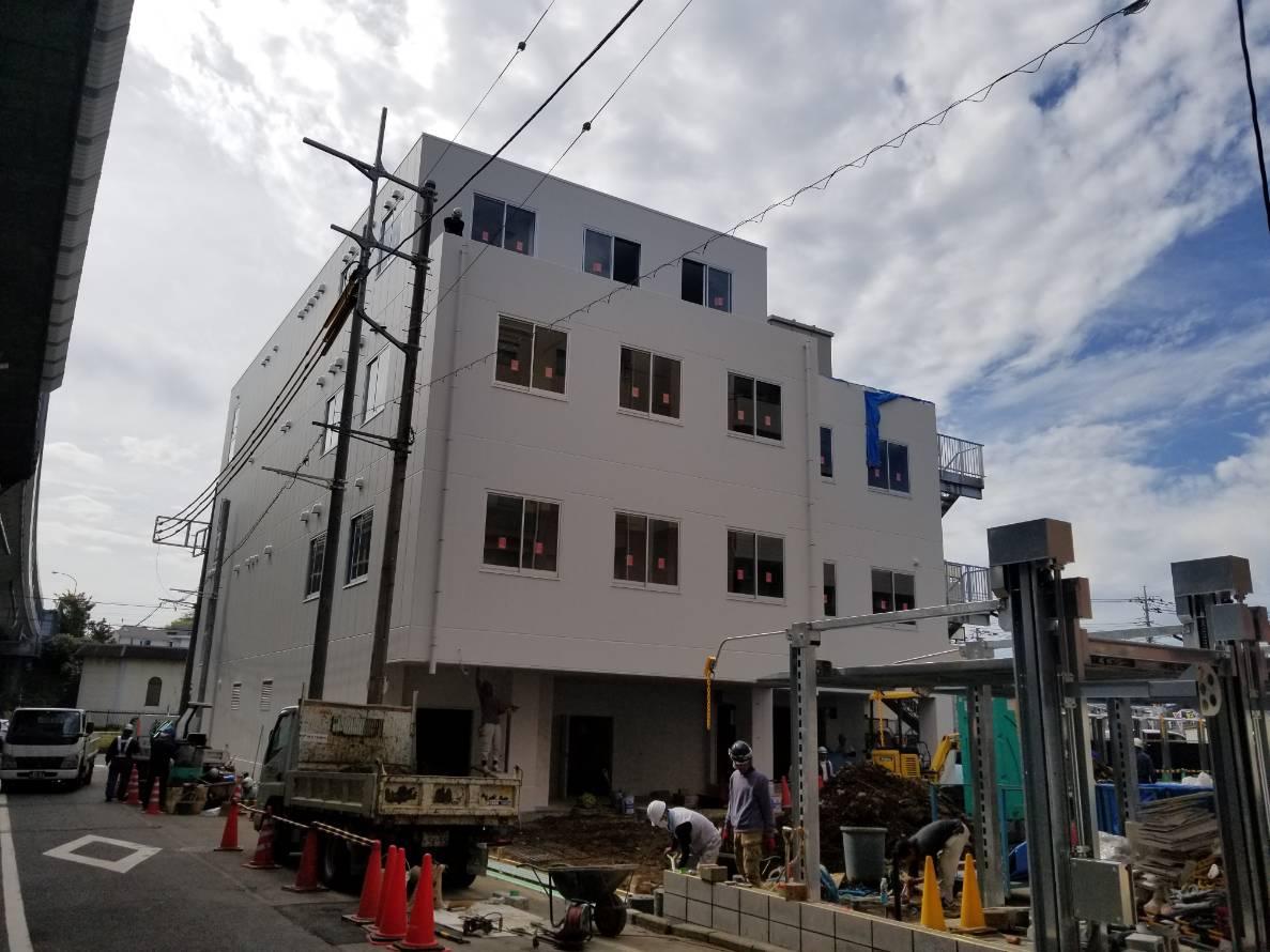 横浜市青葉区 事務所ビル 新築工事物件