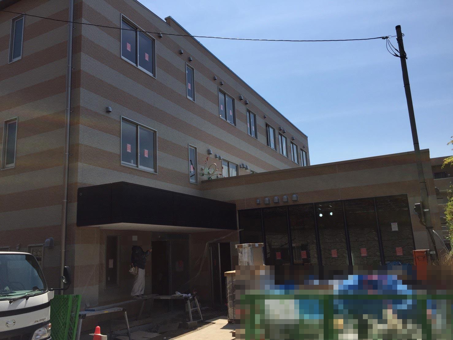 横浜市青葉区老人ホーム 新築工事物件